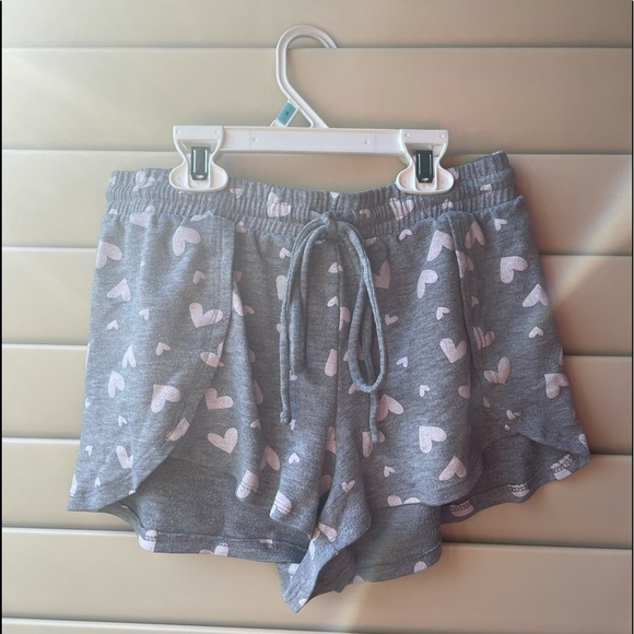 Pj shorts with hearts!